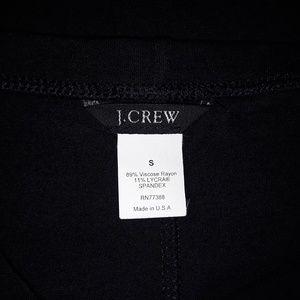 J. Crew Skirts - J Crew Long Black Pencil Skirt Maxi